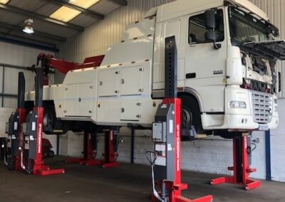 DAF XF Recovery Truck in for Gearbox Overhaul